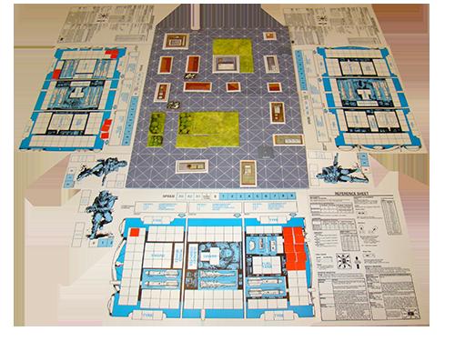 battlecars plateau de jeu