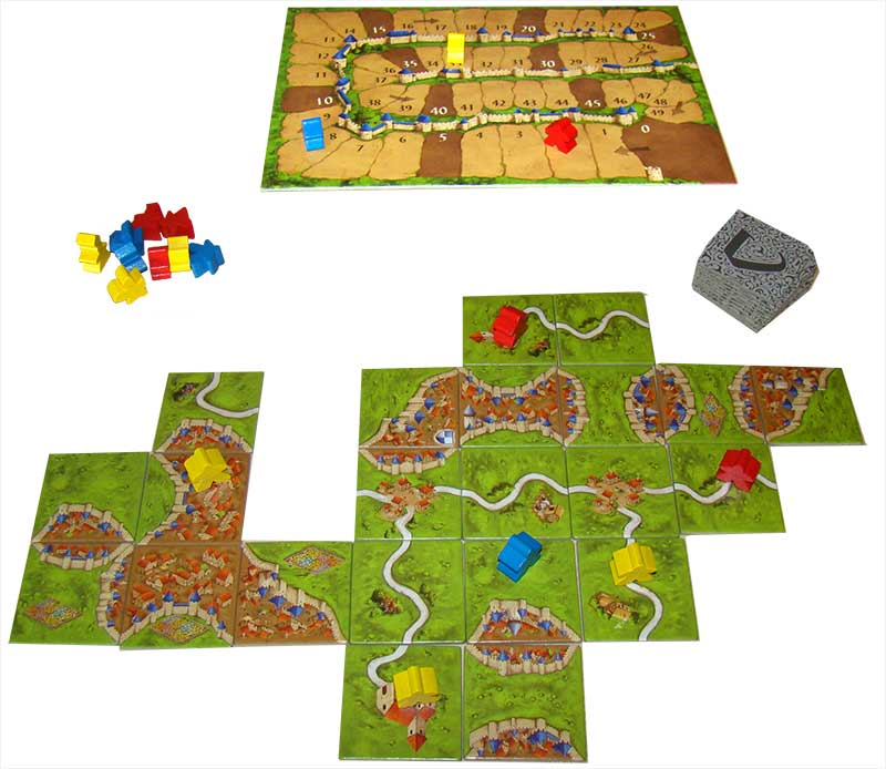 carcassonne plateau de jeu