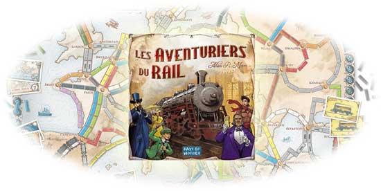 les aventuriers du rail visuel